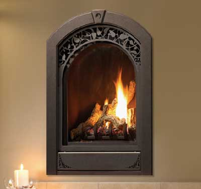 Marquis Serenity DEMO Fireplace - Natural Gas - MQZDV1917This stylish new European-inspired design is perfect for the bath