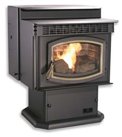 38731 stoves pellet stoves breckwell p24fs the blazer standard Warnock Hersey Pellet Stove Models at couponss.co