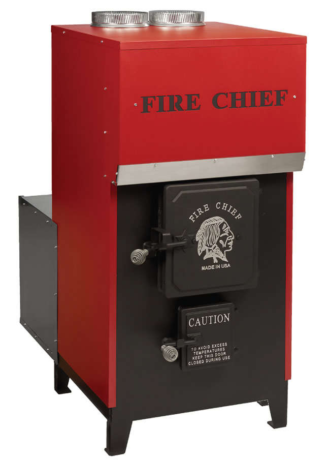 Fire Chief EPA Certified FC1500 Forced Air Wood Furnace ...