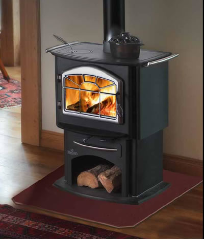 Discontinued Napoleon 1150 Wood Gourmet Cook Stove 1150