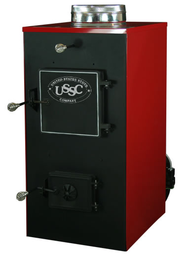 Discontinued Us Stove Company 30a Wood Coal Furnace 30a