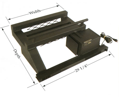 Fireplace Grates Heaters Thermo Rite Cozy Grate Heater