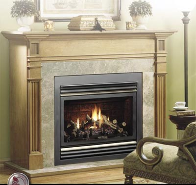Fireplaces Gas Fireplaces Kingsman Direct Vent Gas Fireplace