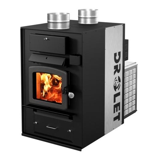 Furnaces Wood Furnaces Drolet Heatmax Wood Furnace