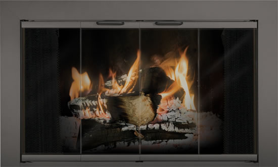 Fireplace Glass Doors Reserve Series Thermo Rite Reserve Stock