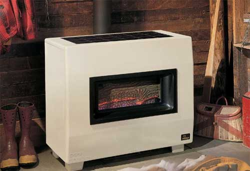 Gas Space Heaters Empire B Vent Console Room Heater
