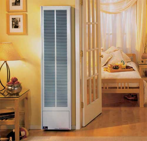Gas Space Heaters :: Empire B-Vent Gravity Wall Furnace