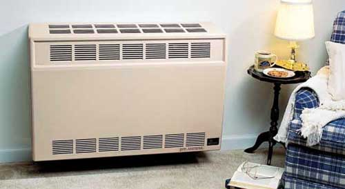 Gas Space Heaters :: Empire Direct Vent Wall Furnace