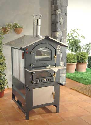 Wood Ovens :: Fontana Forni Gusto 100AV Wood Fired Pizza ...