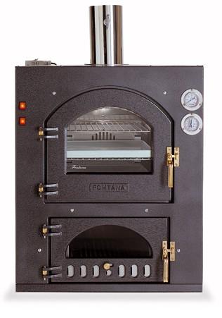 Wood Ovens :: Fontana Forni Inc Q 80x54QV Wood Fired Pizza Oven ...