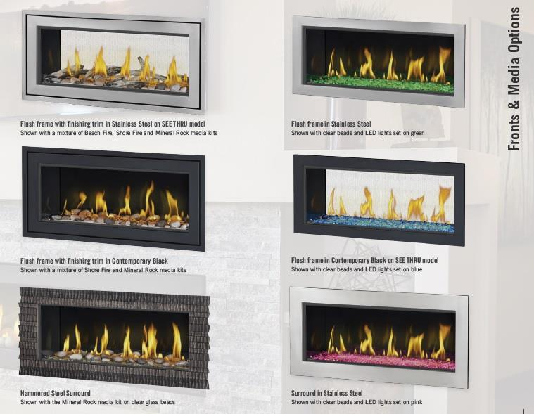 Napoleon Lv50 Vector Linear Direct Vent Gas Fireplace