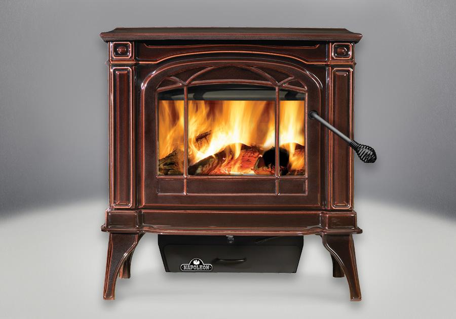 Napoleon Banff 1400c Cast Iron Wood Burning Stove 1400c