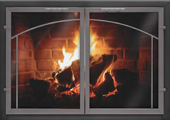 Fireplace Glass Doors Custom Thermo Rite Normandy Deluxe