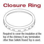 Selkirk 22'' Closure Ring - 222807 - 22S-CR