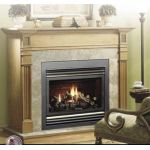 Kingsman Direct Vent Gas Fireplace Heater - Millivolt - ZDV6000N