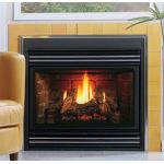 Kingsman Direct Vent Back Flue Gas Fireplace Heater - MV - ZDV3624NB