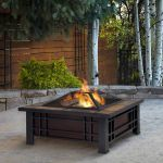Real Flame Morrison Fire Pit - 906-BK