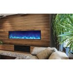 Amantii 72'' Electric Built-in only comes with optional black steel surround - BI-72-DEEP