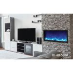Amantii 40'' Slim Electric Built-in only with black steel surround - BI-40-SLIM