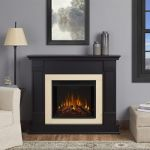Real Flame Silverton Electric Fireplace - Black - G8600E-B