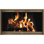 Thermo-Rite Z-Door Stock Zero Clearance Door Heatilator - HE44 (Shown in Textured Bronze)