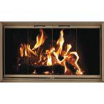 Thermo-Rite Z-Door Stock Zero Clearance Door Majestic - MJ09 (Shown in Textured Bronze)