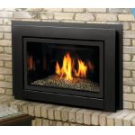Kingsman Direct Vent Fireplace Insert - Millivolt - Propane - IDV36LP