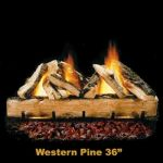 """Hargrove 36"""" Western Pine Log Set - WPS36"""