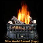 Hargrove Olde World Basket w/ Refractory Logs - OBLO19N1B