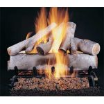 "Rasmussen 24"" Birch Log Set - Single Face - WB246"