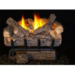 Real Fyre 16'' Valley Oak Vent Free Log Set - 9500 BTU - VOG8E-16R