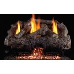 Real Fyre 30'' Charred Frontier Oak Vent Free Log Set - CHFRG10-30