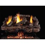 Real Fyre 30'' Charred Aged Split Vent Free Oak Log Set - CHASG10-30
