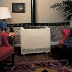 Empire B-Vent Console Room Heater - Closed Front - 65000 BTU - RH-50C