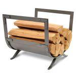 Pilgrim Old World Wood Holder - Forged Iron - 18540