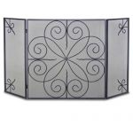 Napa Forge 3 Panel Elements Screen - Black - 19235