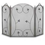 Napa Forge 3 Panel Kentfield Screen - Pewter - 19237