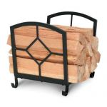 Napa Forge Art Nouveau Wood Holder - Black - 19423