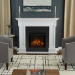 Real Flame Thayer Electric Fireplace White - 5010E-W