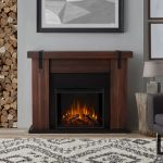 Real Flame Aspen Electric Fireplace in Chestnut Barnwood - 9220E-CHBW
