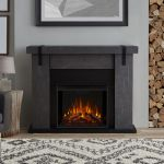 Real Flame Aspen Electric Fireplace in Gray Barnwood - 9220E-GBW
