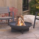 Real Flame Anson Fire Bowl in Gray - 958-GRY