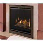 "Majestic Meridian Platinum 36"" Gas Fireplace - MERIDPLA36I"