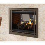 """Majestic Pearl II See-Through 36"""" Gas Fireplace - PEARL36STI"""
