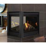 """Majestic Pearl II Peninsula 36"""" Gas Fireplace - PEARL36PRI"""