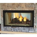 Majestic Designer Series See-Through 36 Wood Burning Fireplace - DSR36