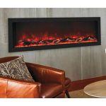 Remii 55 Deep Indoor or Outdoor Electric Built-In Fireplace - 102755-DE
