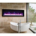 Amantii 60 Extra Slim Indoor Or Outdoor Electric Built-In Only Electric Fireplace - BI-60-XTRASLIM