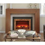 Sierra Flame 34 Insert Insert With Dual Steel Surround - INS-FM-34