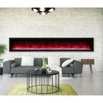 Remii 100 Basic Clean-Face Electric Built-In Fireplace - WM-100-B